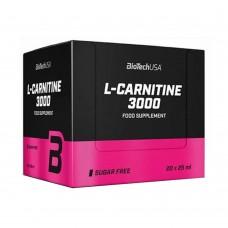BIOTECH L-CARNITINE 3000 20 x 25 ML