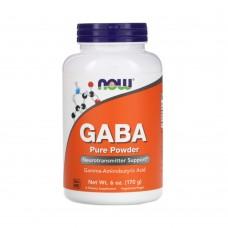 NOW GABA POWDER 170 G