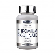 SCITEC NUTRITION CHROMIUM PICOLINATE 100 TBL