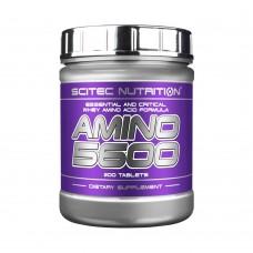 SCITEC NUTRITION AMINO 5600 200 TBL