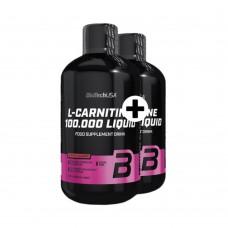BIOTECH L-CARNITINE 100 000 500 ML 1+1 ZDARMA