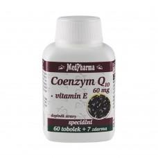 MedPharma KOENZÝM Q10 60 mg + Vitamín E 67 kapslí