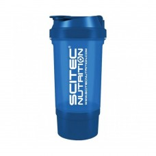 SCITEC TRAVELLER SHAKER 500 ML BLUE