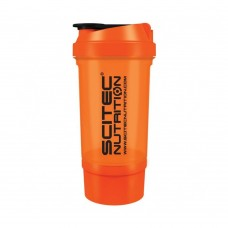 SCITEC TRAVELLER SHAKER 500 ML ORANGE