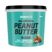 BIOTECH PEANUT BUTTER ALL NATURAL SMOOTH 1000 G
