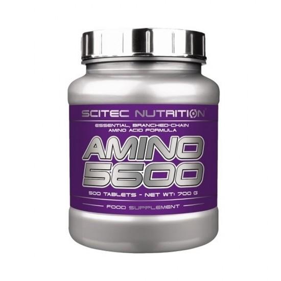 SCITEC NUTRITION AMINO 5600 500 TBL